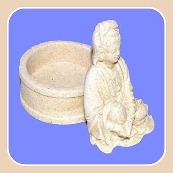 Kwan Yin Tealight Candle Holder