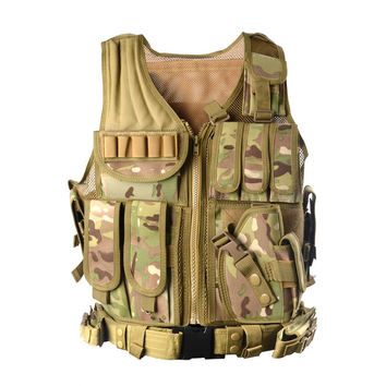 Tactical Vest Camouflage Military