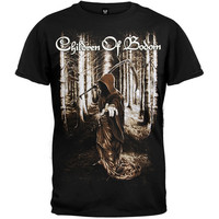 Children Of Bodom- Death Wants You on a black shirt