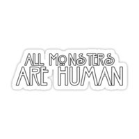 All Monsters Are Human - AHS
