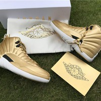 AIR JORDAN 12 (PINNACLE GOLD)