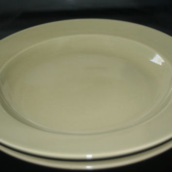 Vintage Olive Green MSE China Plate,Collectible China,Castawayacres