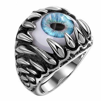 The Devil's Eye 316L Ring Titanium steel jewelry