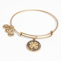 Alex and Ani 'Four Leaf Clover' Expandable Wire Bracelet | Nordstrom