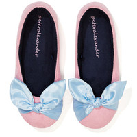 Ladies Bow Couture Slipper