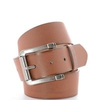 Light Brown Vintage Style Belt