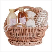 Ginger Therapy Bath & Body Gift Basket