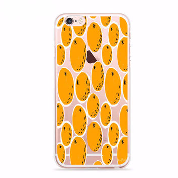 Juicy Orange Fruit Case for iPhone