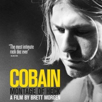 Kurt Cobain Montage Of Heck Movie Poster Standup 4inx6in