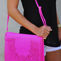 Bag To Differ Purse: Neon Pink | Hope's