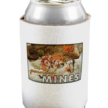 CO Painted Mines with Text Can / Bottle Insulator Coolers