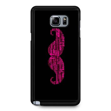 Markiplier Quotes Samsung Galaxy Note 5 Case