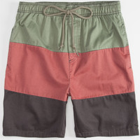Rusty Side Step Mens Volley Shorts Multi  In Sizes