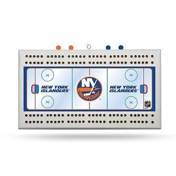New York Islanders NHL Licensed 2 Track Cribbage Board
