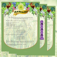 LAMMAS SPELL LUGHNASADH 3 Pages,Digital Download, Book of Shadows Pages, Grimoire, Spell, Wicca, Magick, Pagan Ritual, White Magick