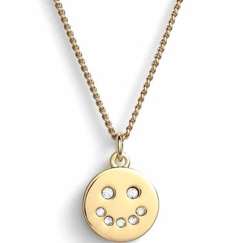 Marc Jacobs Smiley Pendant Necklace