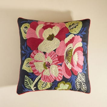 Hopin' and Stitchin' Pillow | Mod Retro Vintage Decor Accessories | ModCloth.com