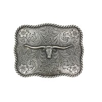 Cody James® Men's Texas Long Horn Belt Buckle