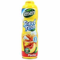 Teisseire French Peach Iced Tea Syrup, 20 oz