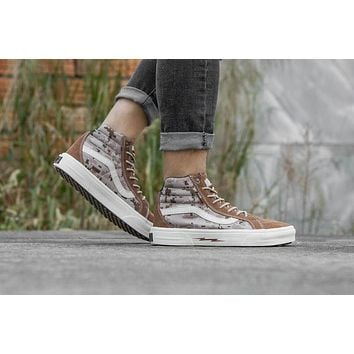 VANS Syndicate SK8 Hi Defcon High Top Men Flats Shoes Canvas Sneakers Women Sport Shoes