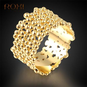ROXI Women Rings Engagement Aneis Feminino 2017 Gold for Women Wedding Ring Bagues Femme Love Ring