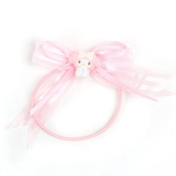 My Melody Ponytail Holder: Ribbons