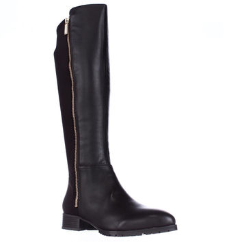 Nine West Legretto Knee-High Boots, Dark Brown, 5 US