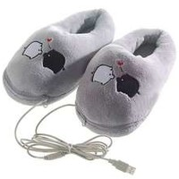 Newegg.Com - New Year Gift Cartoon Pig USB Heating Cushion Slippers Heated Shoes Foot Warmer PC Laptop