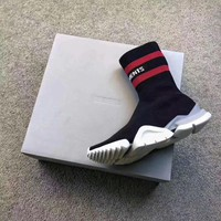 Vetement x Reebok Custom Speed Stretch Knit Socks Shoes