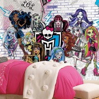 Monsters High Mural Wall Decal