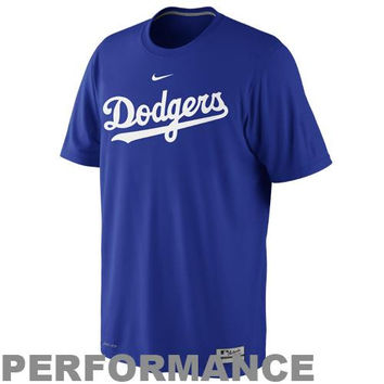 Nike L.A. Dodgers Dri-FIT Legend Practice T-Shirt - Navy Blue