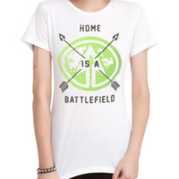 DC Comics Green Arrow Battlefield Girls T-Shirt