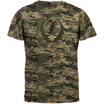 Grateful Dead - Steal Your Face Camo T-Shirt