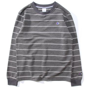 Champion Women Men Stripe Fashion Pullover Tops Sweater Hoodie G