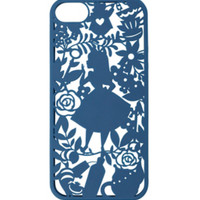 Disney Alice In Wonderland Floral Cutout iPhone 5/5S Case