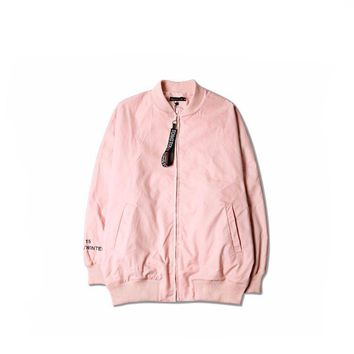 cc auguau Pink Bomber Jacket