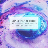 Bath Bomb Of The Month Club | Silver Package | Two Bath Bombs, Once A Month, For 3 Months