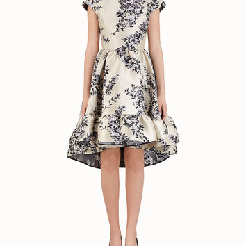 Multicolor silk dress - SHORT DRESS | Fendi | Fendi Online Store