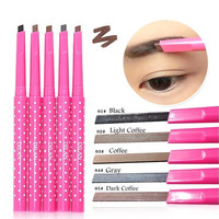 Waterproof Dark Brown Eyebrow Pencil Eye Brow Liner Powder Shaper Makeup Tool DO [8096931207]
