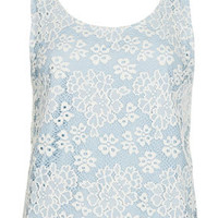 Lace Vest - Vests & Tanks - Jersey Tops  - Clothing