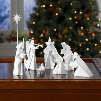 Origami Nativity Scene By One Hundred 80 Degrees