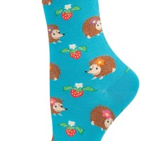 Super Cute Hedgehogs Socks (Women's)
