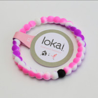 Hot Lokai Bracelets in RAINBOW Red and Rainbow Purple  Lokai Bracelet Bangles