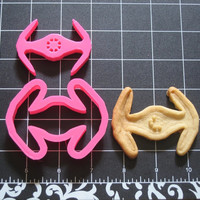 Tie Fighter Cookie Cutter Stamp Set Star Wars Inspired Pink BPA FREE