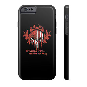 IF YOU WANT PEACE Phone Case