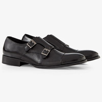 Double Monk Strap Dress Shoe from EXPRESS