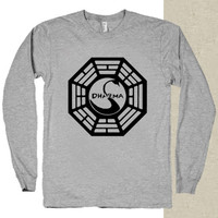 TheSwan Dharma Initiative t-shirt long sleeves happy feed