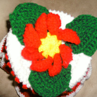 Handmade Crocheted toilet paper cover by CanadianCraftCritter