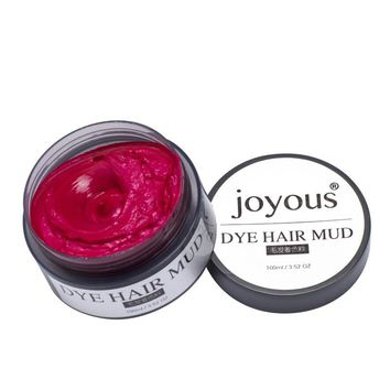 N2017 Fashion Hair Temporary Dye Cream Hair One-time Colored Hair Mud dye Styling Cream