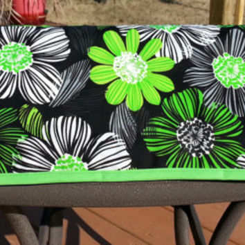Bright Green Flowers Cover fits Silhouette Cameo - Only One available
